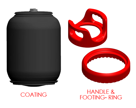 Handle and foot ring combo