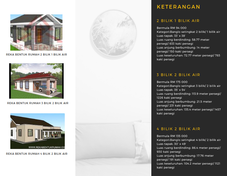 House specifications